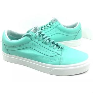 NEW Vans Womens Old Skool Shoes Sneakers Green 10